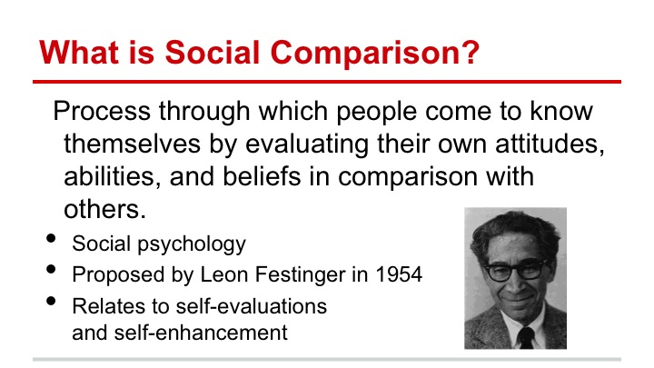 social comparison theory examples